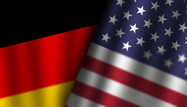 Germany-USA-Flag