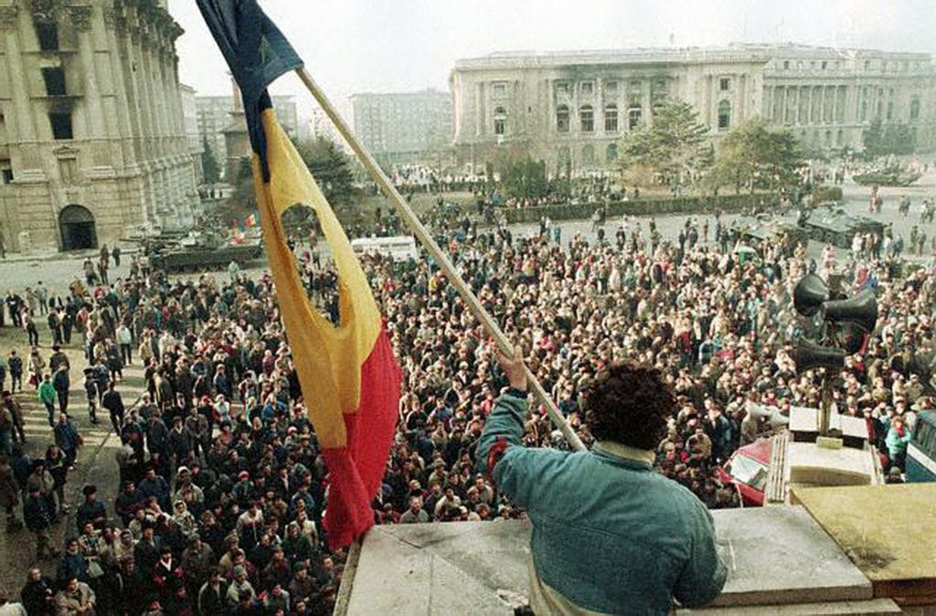 ca. December 1989 Bucharest, Romania