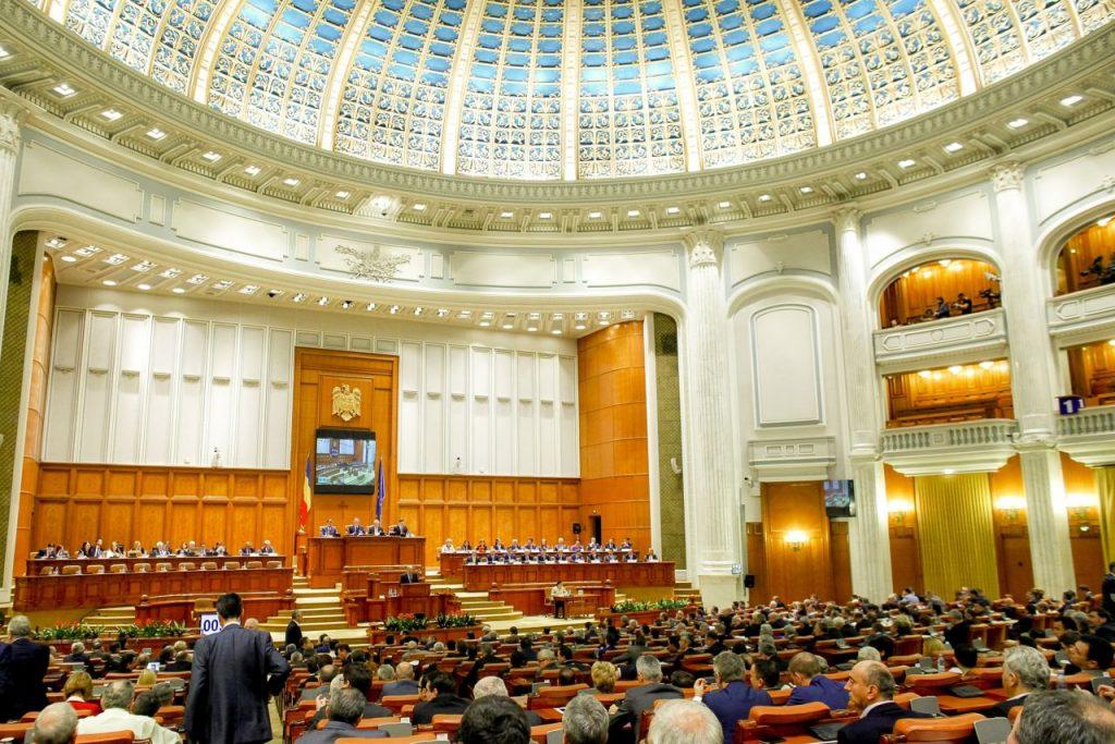 Sedinta de investire a cabinetului premierului desemnat, Dacian Ciolos, în plenul reunit al Parlamentului, marti, 17 noiembrie 2015, Bucuresti.