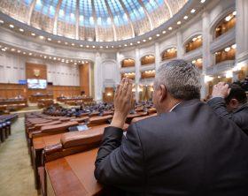 Deputatii au fost convocati, joi 5 Ianuarie 2017, intr-o sedinta extraordinara a Camerei Deputatilor, pentru a dezbate modificarile ce vor fi aduse Legii Codului Fiscal. ORIZONTAL PARLAMENT CAMERA DEPUTATILOR DEPUTATI PARLAMENTARI PARLAMENT COD FISCAL VOT VOTARE