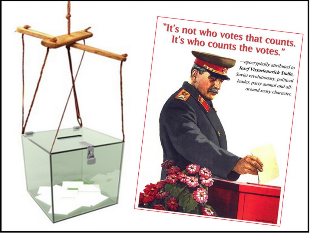 vote-rigging