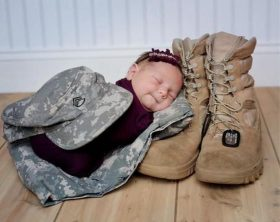 military-baby
