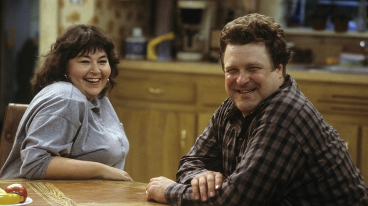 are-roseanne-barr-john-goodman-married