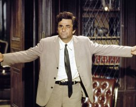 Peter Falk as Lt. Columbo, in TV Series 'Columbo'. Photo by NBCU Photo Bank/ABACAPRESS.COM